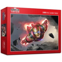 Puzzlelife 1000Piece Jigsaw Puzzle Marvel Future Fight Iron