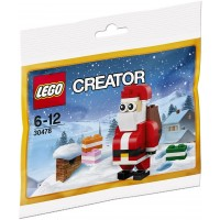 Lego Creator 30478 Jolly Santa Christmas Polybagged 74 Piece