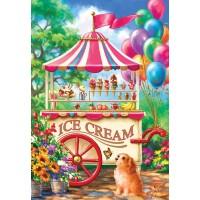 Sunsout Inc Ice Cream Cart 100 Pc Jigsaw