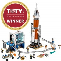 Lego City Space Deep Space Rocket And Launch Control 60228 Model Rocket Building Kit With Toy