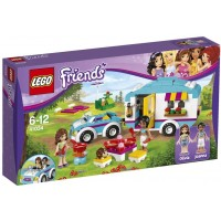 Lego Friends Summer Caravan Kids Play Building Set W Minifigures