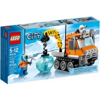 Lego City Arctic Ice Crawler 60033 Building