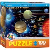 The Solar System 100 Piece Jigsaw