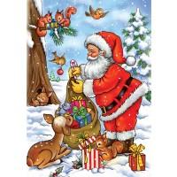 Santa With His