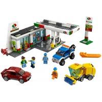 Lego City Town 60132 Service Station Building Kit 515