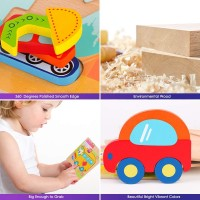 Toddlers 3D Wooden Jigsaw Puzzles Vsaten Early Education Learning Toys Gifts Outdoor Indoor Toy