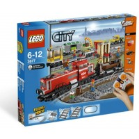 Lego Train Set 3677 Red Cargo