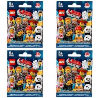 Lego Minifigures The Movie Series 71004 Four Random