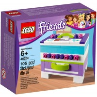 Lego Friends 40266 Storage Box Building Kit 105