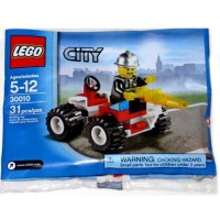 Lego City Exclusive Mini Figure Set 30010 Fire Chief