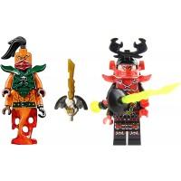 Lego Ninjago Nadakhan And General Kozu