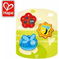 Hape Dynamic Insect Puzzle Game Multicolor 669 X