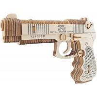 pysanky 106 Pieces Beretta M92F Gun Model Kit Wooden Lasercut 3D