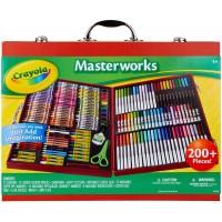 Crayola Masterworks Art Case Over 200 Piece Gift Age 4 5 6