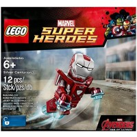 Lego Super Heroes Silver Centurion Exclusive Minifigure Iron Man Mark 33