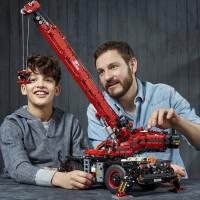 Lego Technic Rough Terrain Crane 42082 Building Kit 4056