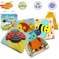 Wooden Puzzles For Toddlers Animal Jigsaw Puzzles Early Educational Toys For Toddlers Baby Infant