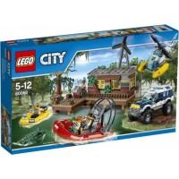 Lego City Swamp Hideout
