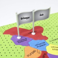 Imagimake Mapology India With State Capitals Learn Indian States Along With Capital Fun Jigsaw