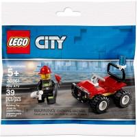 City Lego Set 30361 Fire Atv 39 Pieces