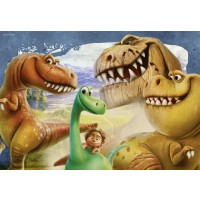 Ravensburger The Good Dinosaur The Good Dinosaur In A Box 2 X 24 Piece Jigsaw Puzzles Every Piece