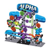 Alpha Techno Gears Marble Mania Building Set