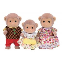 Calico Critters CC1489 Mango Monkey Family Doll Set