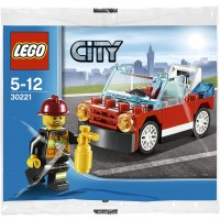 Lego City Fire Car Set 30221