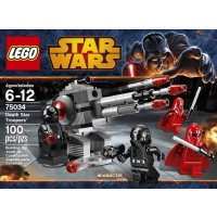 Lego Star Wars 75034 Death Star Troopers 100 Pieces Includes 4 Minifigures With Weapons 2 Imperial