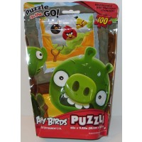 Cardinal Industries Angry Birds Puzzle On The Go 100