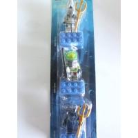 Lego Atlantis Magnet Set Of 3 Shark Lance Manta