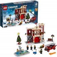 Lego Creator Expert Winter Village Fire Station 10263 Building Kit 1166