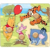 Melissa Doug Disney Baby Winnie The Pooh And Friends Jumbo Knob Wooden