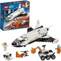Lego City Space Mars Research Shuttle 60226 Space Shuttle Toy Building Kit With Mars Rover And