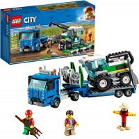 Lego City Great Vehicles Harvester Transport 60223 Building Kit 2019 358 Pieces