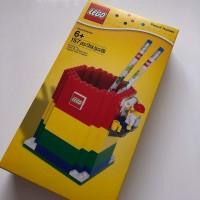 Lego Pencil Holder Minifigure 2 Pencils