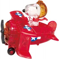 Beverly Crystal Puzzle Snoopy Flying Ace 50 182 By