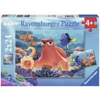 Ravensburger Disney Finding Dory 2 Pack 24 Piece Jigsaw Puzzle Every Piece Is Unique Pieces Fit