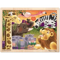 Melissa Doug African Plains Jigsaw Puzzle 24