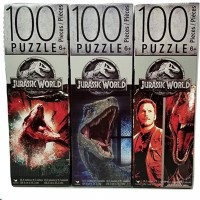 Jurassic World 100 Piece Puzzle Bundle Of