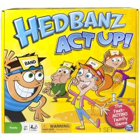 Spin Master Games Hedbanz Act Up