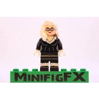 Lego Custom Printed Black Cat Minifig Marvel Super Hero Felicia