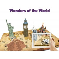 Playautoma Explore World App Based Augmented Reality Interactive Learning Games On World Map Jigsaw