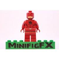 Lego Custom Printed Daredevil Minifig Marvel Super Hero Matt