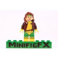 Lego Rogue Minifig Marvel Xmen Mutant Anna Marie