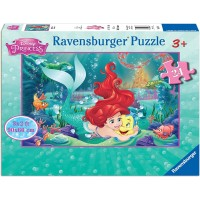 Ravensburger 05468 Hugging Arielle 24 Piece Jigsaw Puzzle Every Piece Is Unique Pieces Fit Together