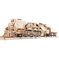 Ugears Mechanical Model Vexpress Steam Train With
