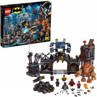 Lego Dc Batman Batcave Clayface Invasion 76122 Batman Toy Building Kit With Batman And Bruce Wayne