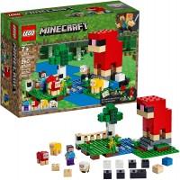 Lego Minecraft The Wool Farm 21153 Building Kit 260