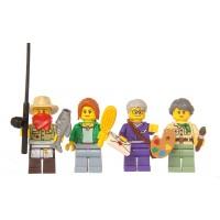 Lego Ninjago Set Of 4 Figures 70751 Misako Jesper Claire
